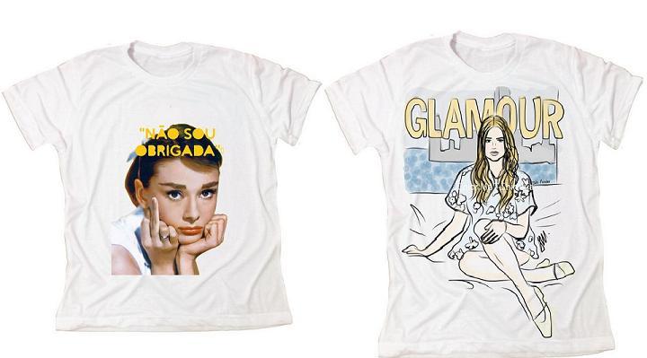 Camisetas que são comercializadas na loja móvel - Crédito: Divulgação/lovecolorme.com.br