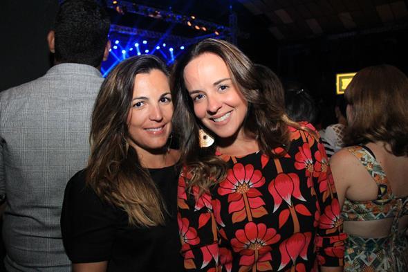 Cecilia Ramos e Camila Campos Créditos: Luiz Fabiano/ Comunnik