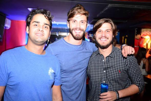 Romero Freyre, Eric Numeriano e Felipe Leal. Crédito: Gabriel Pontual / Divulgação