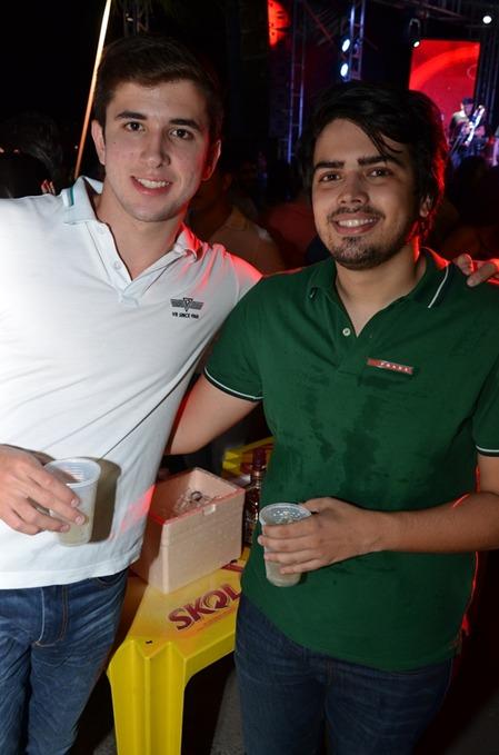 Diego Coutinho e Carlos Carreras. Crédito: Ricardo Moreira