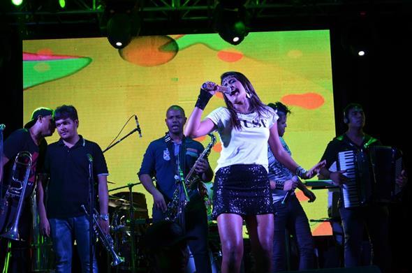 Banda Santa Dose. Crédito: Ricardo Moreira