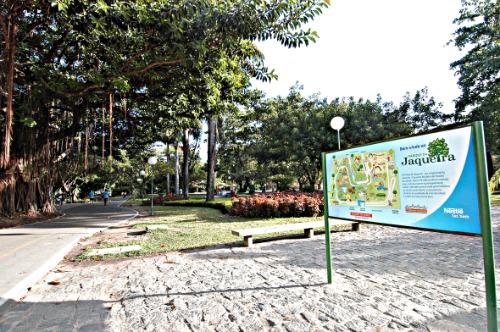 No Parque da Jaqueira as crianças vão poder participar de atividades gratuitas - Credito: Edvaldo Rodrigues/DP/ D.A Press