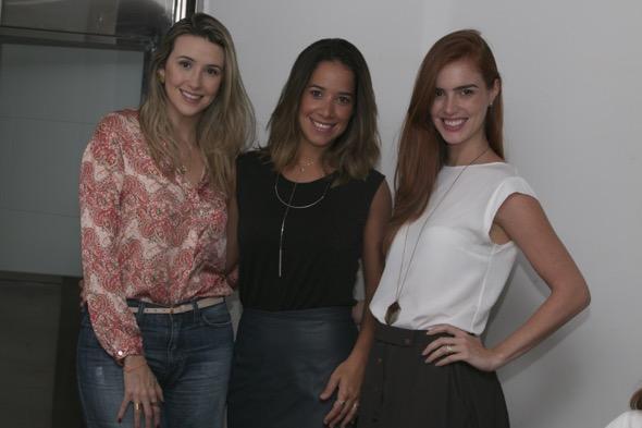Bruna Monteiro, Renata Barroca e Dulce Gayoso - Crédito: Tatiana Sotero/DP/D.A Press
