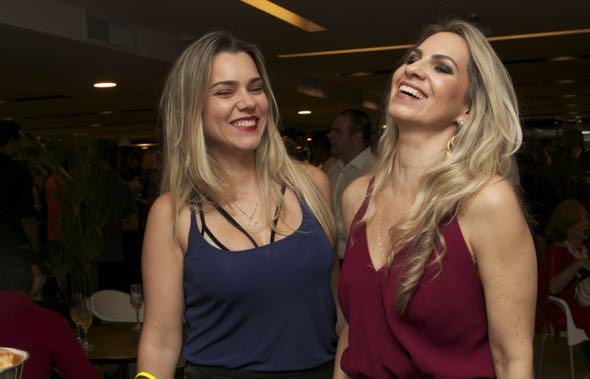 Michelle Simões e Taciana Carulla - Crédito: Tatiana Sotero/DP/D.A Press
