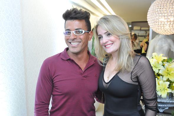 Eliel Alves e Daniela Gomes. Crédito: Lacerda Estúdio