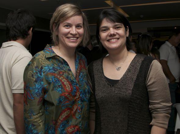 Daniele Viana e Renata Cavalcanti - Crédito: Tatiana Sotero/DP/D.A Press