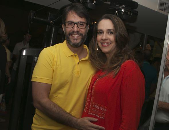 Flávio e Paula Sotero - Crédito: Tatiana Sotero/DP/D.A Press