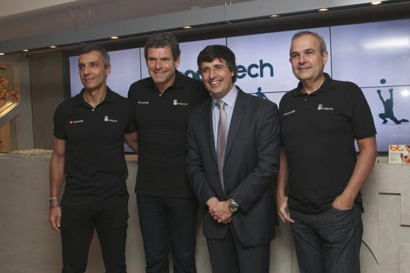 João Paulo Diniz, Alexandre Acioly, André Esteves e Luiz Urquisa - Crédito: Tatiana Sotero/DP/D.A Press