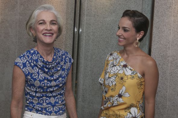 Ana Luiza e Cris Lemos - Crédito: Tatiana Sotero/DP/D.A Press