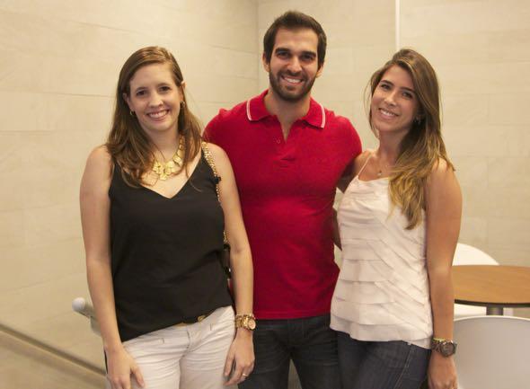 Maria Dulce Batista, Tuca Queiroz e Carol Maciel - Crédito: Tatiana Sotero/DP/D.A Press