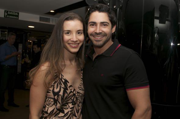 Marília Lisboa e Felipe Almeida - Crédito: Tatiana Sotero/DP/D.A Press