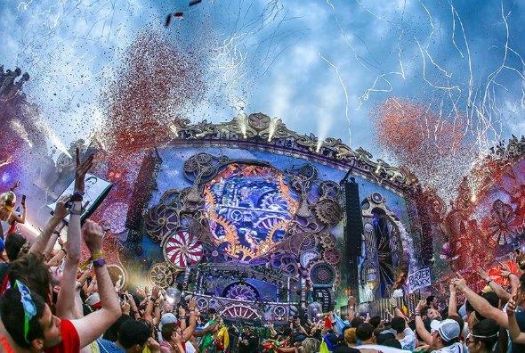 Créditos: Reprodução página oficial da Tomorrowland