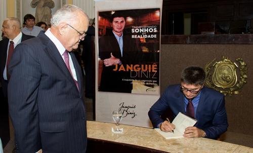 Guilherme Uchôa e Janguiê Diniz - Crédito: