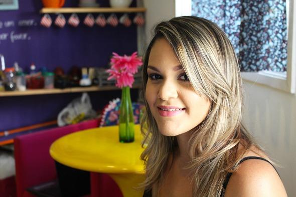 Natália Mendes assina o blog Chá das Noivas. Crédito: Arquivo pessoal / Divulgação