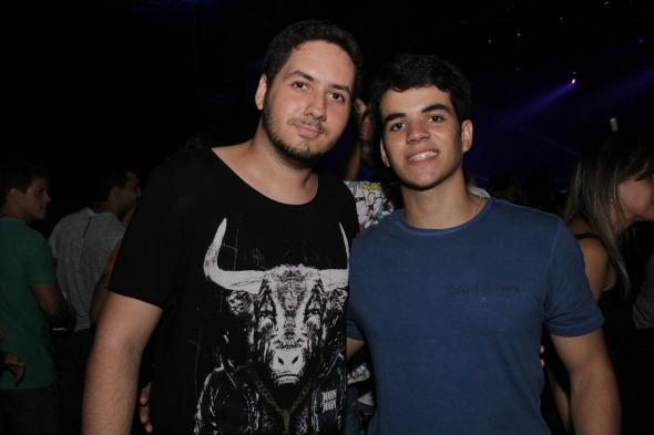 Lucas Menezes e Danilo Victor. Crédito: Larissa Nunes