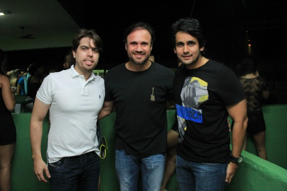 Ciro Couceiro, Waldemar Valente e Paulo Labanca. Crédito: Luiz Fabiano