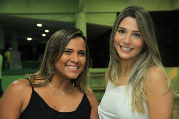 Mariana Medeiros e Marina Ferreira. Crédito: Luiz Fabiano