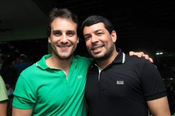 Bruno Ramos e Gustavo Ribeiro. Crédito: Luiz Fabiano