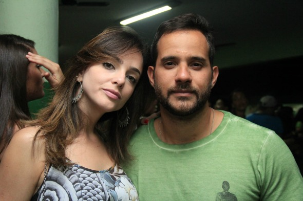 Luana Reis e Fábio Bonfim. Crédito: Luiz Fabiano