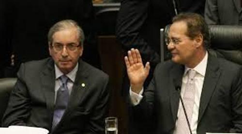 Eduardo Cunha e Renan Calheiros/Ag. Câmara