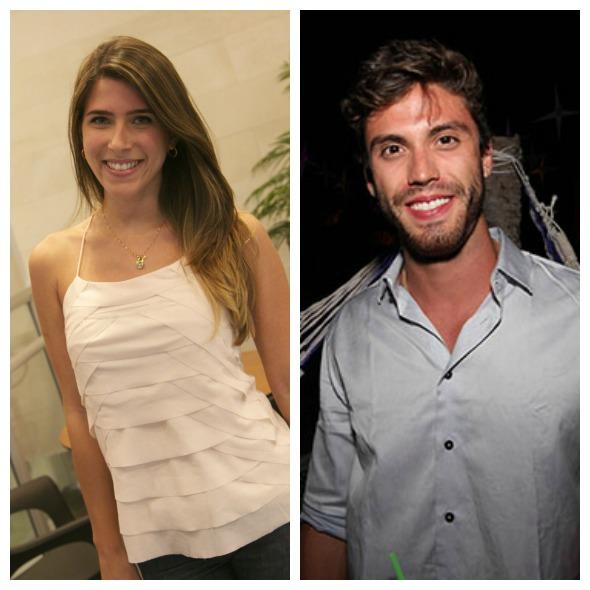 Carol Maciel e Eric Numeriano participam da ação da Heineken no IRB - Créditos: Tatiana Sotero/DP/D.A Press e Natan Batista/Divulgação