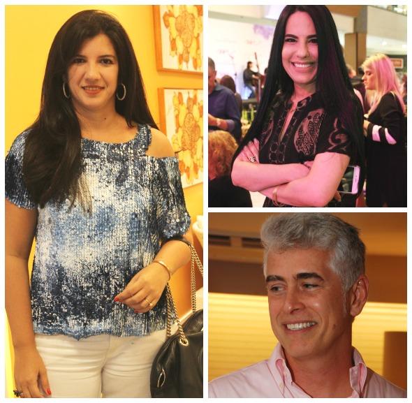 Luiza Nogueira, Ana Paula Cascao e Romero Duarte - Créditos: Nando Chiappetta/DP/D.A Press