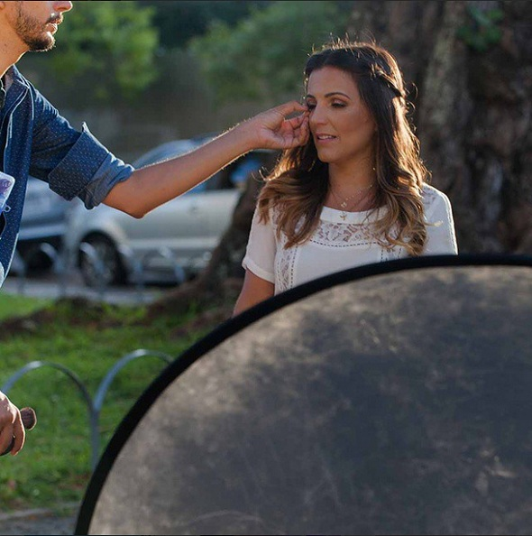 Cecília Ramos em ensaio para a revista Glamour. Crédito: Reprodução Instagram Paloma Amorim