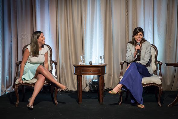 Clarissa Cunha e Camila Texeira. Crédito: Adjemir Miranda