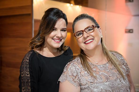 Viviane e Jacqueline Branco. Crédito: Adjemir Miranda