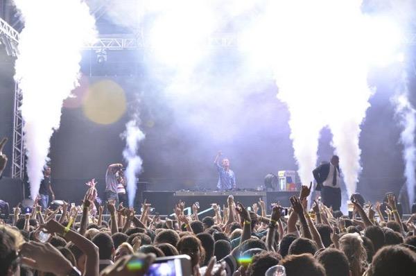 Avicii foi uma das atrações que o label trouxe para a cidade. Créditos: Divulgação