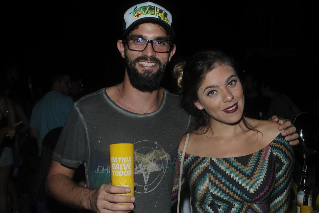Leandro Albuquerque e Bruna Brederode Créditos: Vinícius Ramos/ Vagalume Comunicação