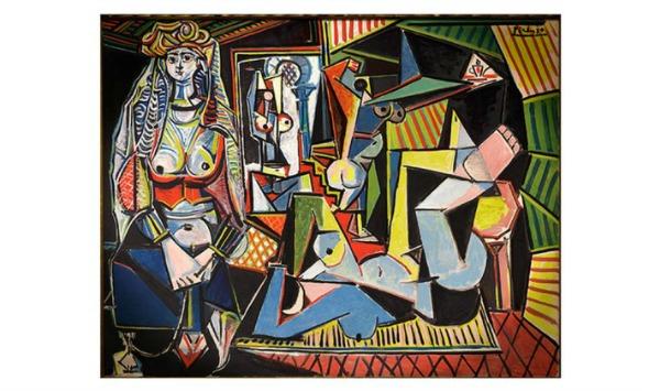 """O quadro """"Les femmes d'Alger (version O)"""", de Pablo Picasso. Crédito: Divulgação/Christie's"""