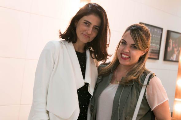 Alice Ferraz e Raphaella Torres Perman - Crédito: Tatiana Sotero/DP/D.A Press