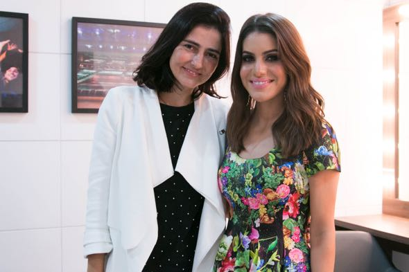 Alice Ferraz e Camila Coelho - Crédito: Tatiana Sotero/DP/D.A Press