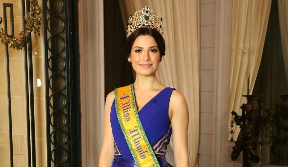 Julia Gama, a Miss Mundo Brasil. Crédito: Leonardo Rodrigues