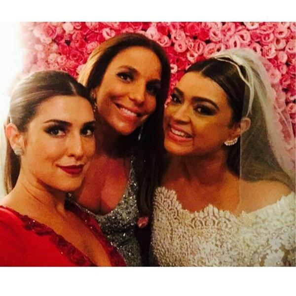 Fernanda Paes Leme, Ivete Sangalo e Preta Gil. Crédito: Reprodução Instagram