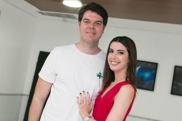 Diego Nunes e Camila Coutinho - Crédito: Tatiana Sotero/DP/D.A Press