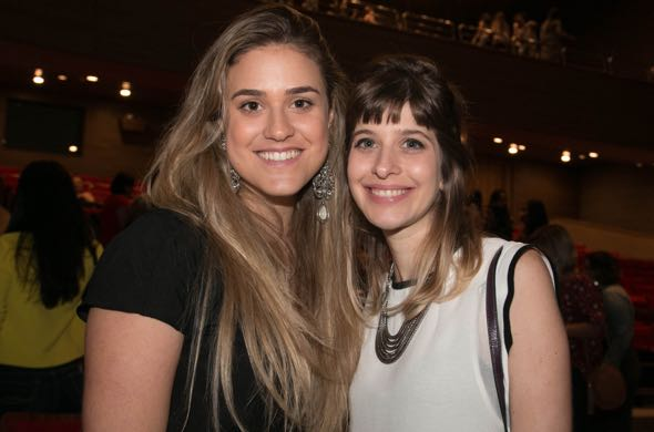 Carol Vaisman e Louise Vas - Crédito: Tatiana Sotero/DP/D.A Press