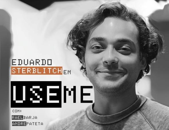 """Cartaz da peça """"Use Me"""", de Eduardo Sterblitch. Crédito: Divulgação"""