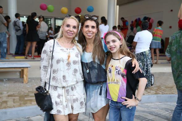 Waldete, Adélia e Amanda Almeida. Crédito: Guilherme Paiva / Divulgação