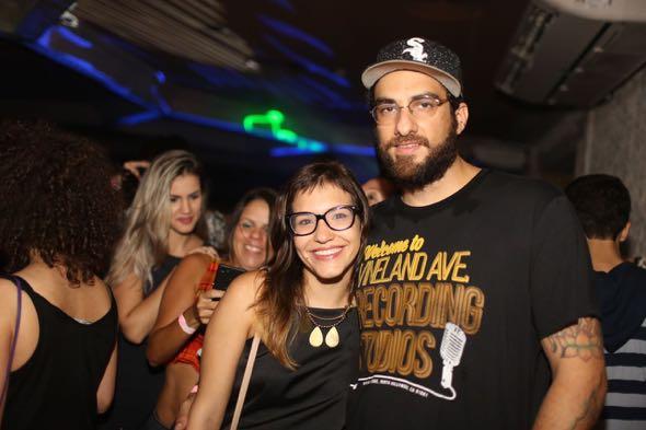 Paula Antunes e Renato Damatta. Crédito: Celo Silva / Divulgação