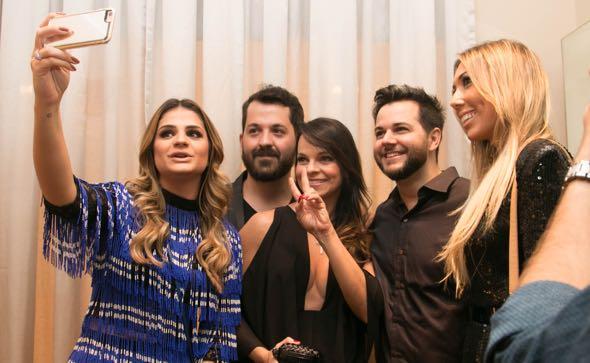 Thassia Naves, Eduardo Amarante, Paola Skazi e Heracliton Diniz - Crédito: Tatiana Sotero/DP/D.A Press
