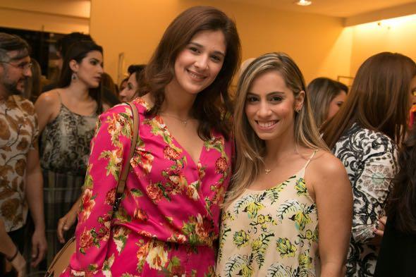 Gabriella Fior e Jamile Melo -  Tatiana Sotero/DP/D.A Press