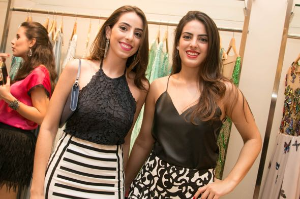 Maria Eduarda e Maria Cecilia Peixoto -  Tatiana Sotero/DP/D.A Press
