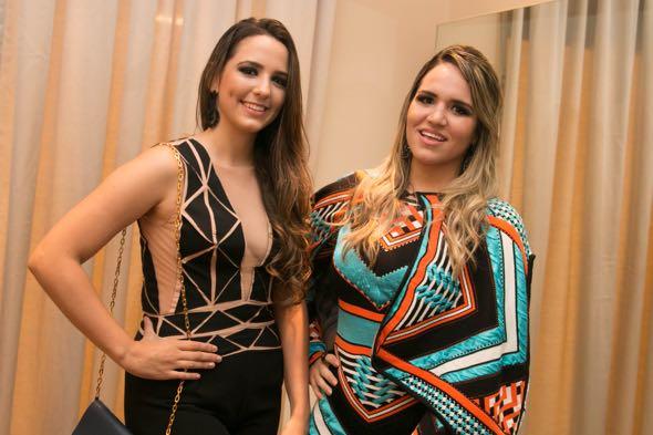 Eduarda Baima e Eduarda Guerra Tatiana Sotero/DP/D.A Press