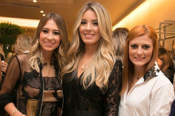 Isabela Faria, Raquel Mattar e Camila Faria - Tatiana Sotero/DP/D.A Press