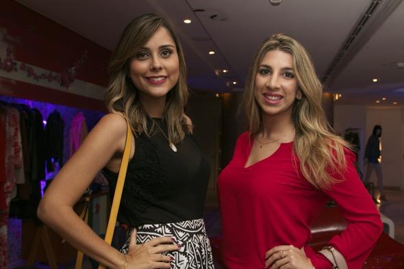 Vanessa Tinoco e Gabriela Ramos. Crédito: Tatiana Sotero / DP / D.A Press
