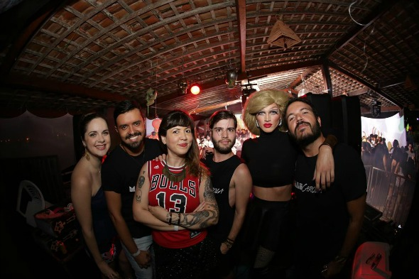 Os DJs da noite. Créditos: Celo Silva fotografia/ DIvulgação