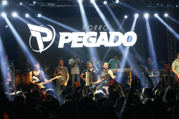 Banda Forró Pegado. Crédito: Carlos Vieira