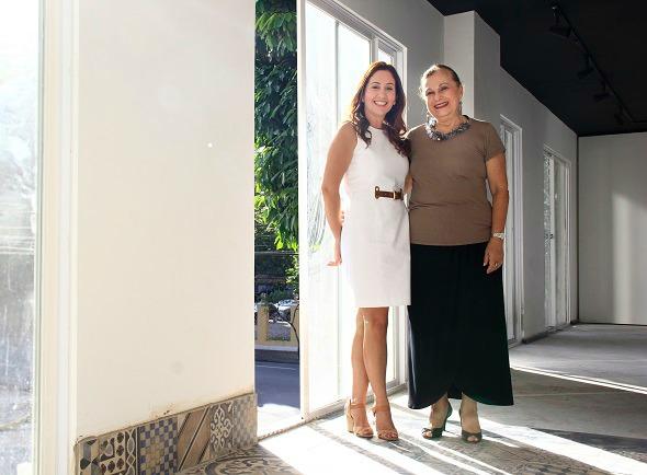 Brenda Carneiro Rosa e Beth Araruna. Crédito: Raquel Melo